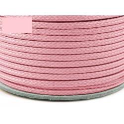 Zsinór 0,4 cm rózsaszín