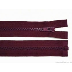 Cipzár 45 cm bontható burgundi GT10