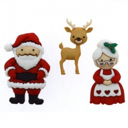 Dress It Up gombszett Mr and Mrs Claus