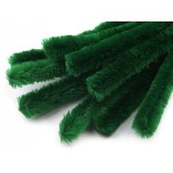 Zsenília drót 1,5 cm zöld