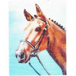 Gobelin 10x13 cm L001 Ló (Szegfű)