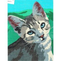 Gobelin 18x24 cm 182407 Macska