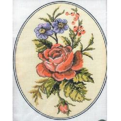 Gobelin 20x25 cm 158 Rózsák
