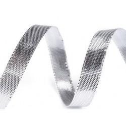 Díszszalag 0,7 cm ezüst