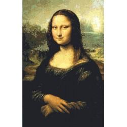 Gobelin 40x25 cm Sz:727 Mona Lisa