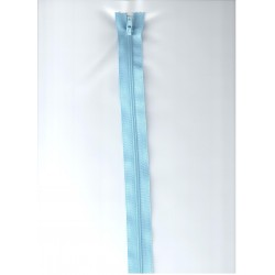 Cipzár 45 cm műanyag világoskék