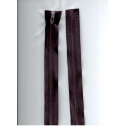 Cipzár 60 cm bontható barna