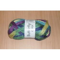 Butterfly Color sárga/lila/zöld 50 g