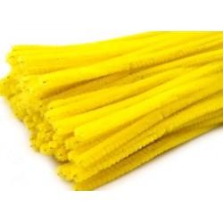 Zsenilia drót 0,6 cm sárga