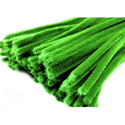 Zsenília drót 0,6 cm zöld