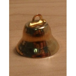 Csengettyű 2 cm aranyszínű
