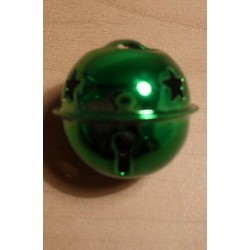 Csengettyű 2,5 cm zöld