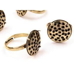 Gyűrű-alap, bronz