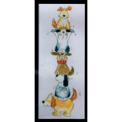 Keresztszemes 26x10 cm MSH0029 Kutyatorony