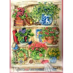 Keresztszemes 35x24 cm PCE745 Garden Bits Bobs