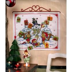 Keresztszemes 40x33 cm 09508 Advent Calendar