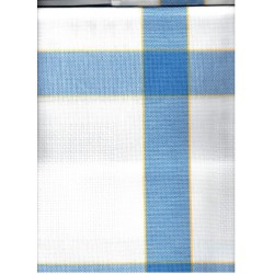 Terítő betétes 85x85 cm kék kockás