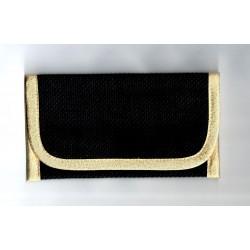 Telefontartó hímezhető fekete/arany