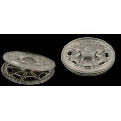 Patent műanyag átlátszó 2,5 cm