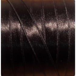 Szatén szalag 0,9 cm fekete