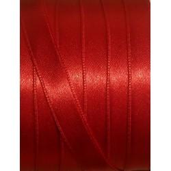 Szatén szalag 0,9 cm piros