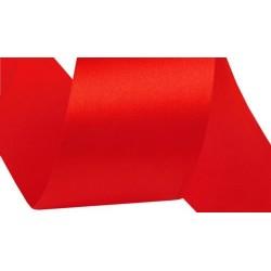 Szatén szalag 4 cm piros