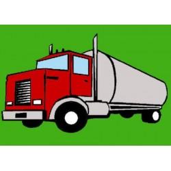 Gobelin 12x17 cm Sz:437 Kamion