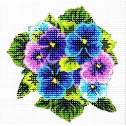 Gobelin 15x15 cm 998 Fokföldi ibolya lila