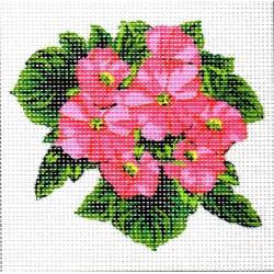 Gobelin 15x15 cm 997 Fokföldi ibolya rózsaszín