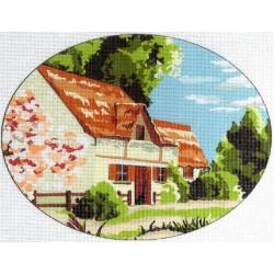 Gobelin 15x20 cm 665 T Tavasz