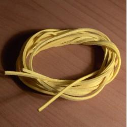 Bőrszíj 75 cm sárga
