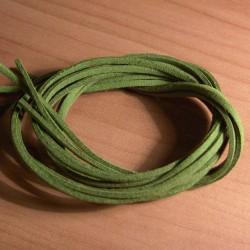 Bőrszíj 75 cm zöld