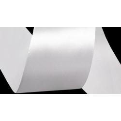 Szatén szalag 3,8 cm fehér