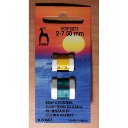 Pony sorszámláló kötőtűre 2-7,5 mm