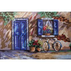 Gobelin 20x30 cm 6151 Görög ház