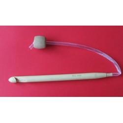 Bambusz horgolótű 9 mm