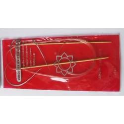 Bambusz körkötőtű 2 mm