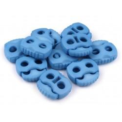 Végszorító 2x2 cm rugós kék