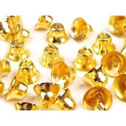 Csengettyű 1,2x2 cm aranyszínű