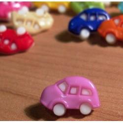 Babagomb 1,6x1 cm lila autó