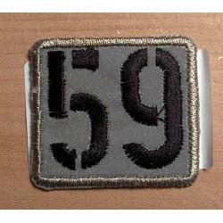 """Fényvisszaverő folt """"59"""""""