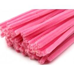 Zsenília drót 0,6 cm rózsaszín