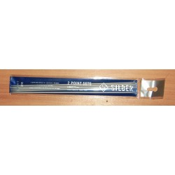 Zoknikötő/kesztyűkötő 2,5 mm Silber