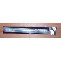 Zoknikötő/kesztyűkötő 4 mm Silber
