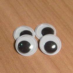 Mozgó szemek 1 cm 8 db