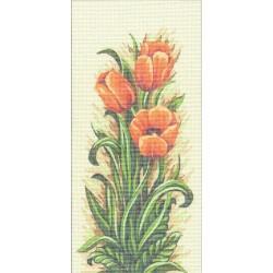 Gobelin 10x21 cm 292 T Tulipán