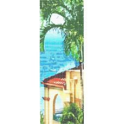 Gobelin 8x23 cm WE09 Toszkán kilátás