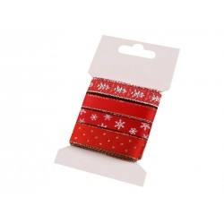 Karácsonyi szalag mix kártyán 4x1 m 2-es mix
