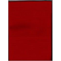 Betétes terítő 40x100 cm piros