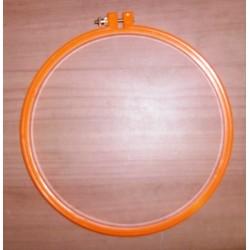 Hímzőráma 20 cm narancssárga